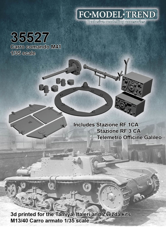 35527 Carro comando M41, 1/35 scale