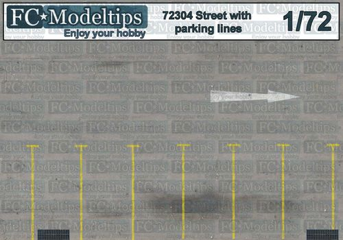 72304 Parking base 1/72 scale