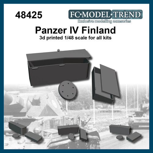 48425 Panzer IV Finland, 1/48 scale