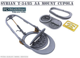 35402 AA mount for T-34/85, 1/35 scale