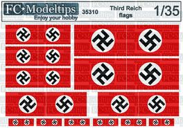35310 Third reich flags WWII 1/35 scale