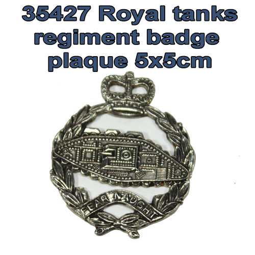 35427 Royal tank regiment plaque