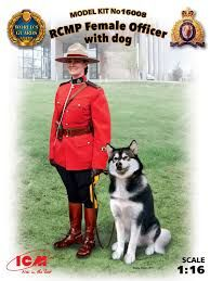 ICM16008 RCMP Officer with dog