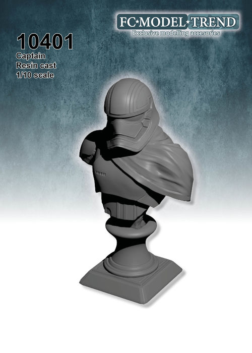 10401 Sci-fi captain, busto escala 1/10
