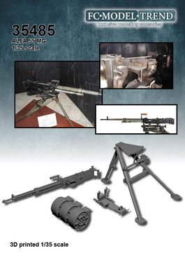 35485 ALFA 55 machine gun, 1/35 scale