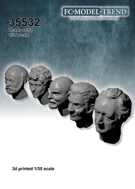 35532 Heads 3, 1/35 scale