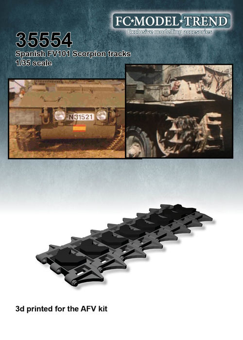 35554 Spanish FV101 Scorpion tracks